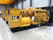 Генераторная установка CAT 3512, 2019 г, новый, 3 шт из Европы Санкт-Петербург