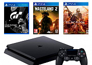 Sony PlayStation 4 Slim 1Tb Black в рассрочку