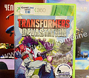 Transformers Devastation Xbox 360 Самара